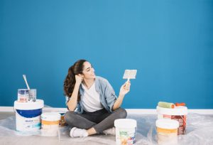 House Painting Danville: Using Stronger Colors